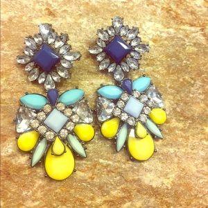 Anthropologie jewel 💎 earrings!